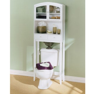 Arch Top Hardwood Bathroom Spacesaver