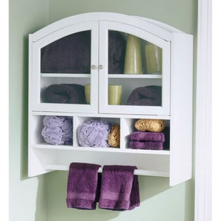 Arch-top Bathroom Wall Cabinet | Overstock.com Shopping - Great