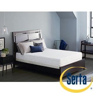 Serta Lure 8-inch Queen-size Gel Memory Foam Mattress Set