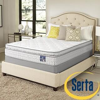 Serta Amazement Pillowtop California King-size Mattress Set