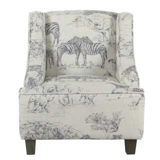 HomePop Kids' Jungle Swoop Chair - Multi