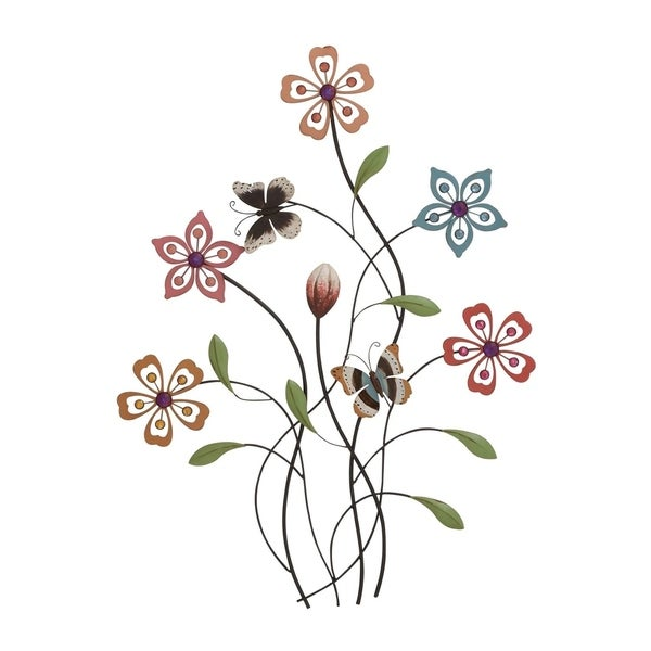 Studio 350 Metal Acrylic Wall Decor 20 inches wide, 28 inches high 28874472