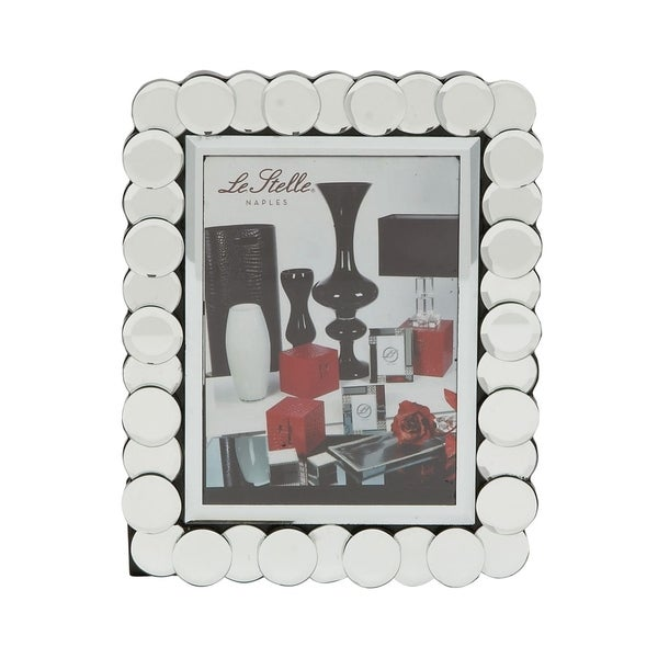 Studio 350 Wood Mirror Photo Frame 8 inches wide, 10 inches high 28876183
