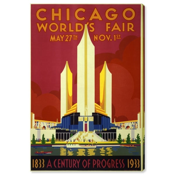 Oliver Gal 'Chicago World Fair 1933' Canvas Art 28899243