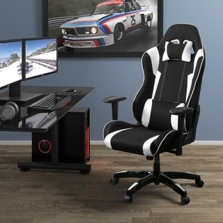 Porch & Den Roundhill High Back Ergonomic Gaming Chair