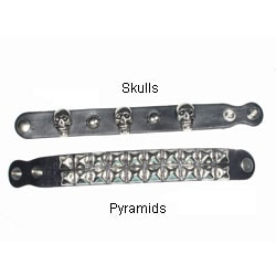 Studded Leather Wrist Band
