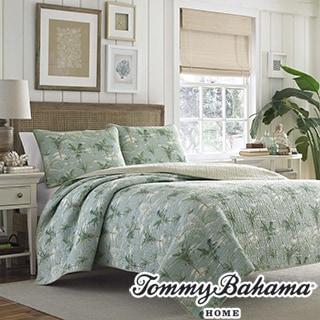 Tommy Bahama Anglers Isle Aloe 3-piece Quilt Set