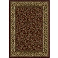 Caroline Floral Heat-set Emerlen Rug (9&#39;10 x 12&#39;10)
