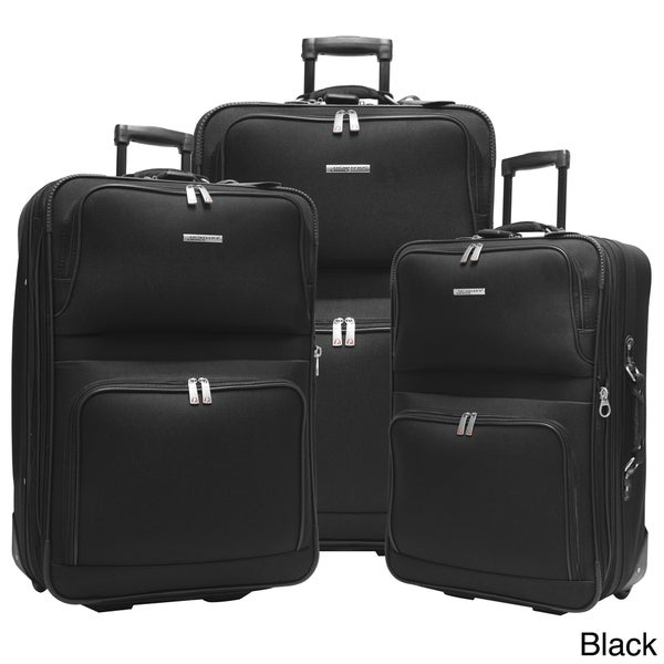 Traveler's Choice Voyager 3-piece Luggage Set