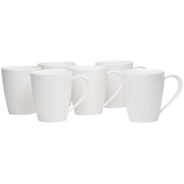 Hospitality White Mug Set of 6 28960774
