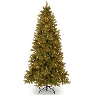 6.5 ft. Downswept Douglas Slim Fir Tree with Clear Lights