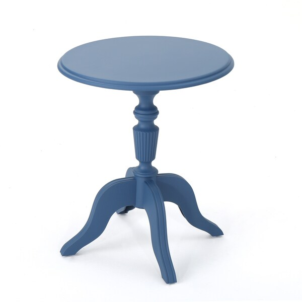 Danish Outdoor Round Side Table by Christopher Knight Home 29009280