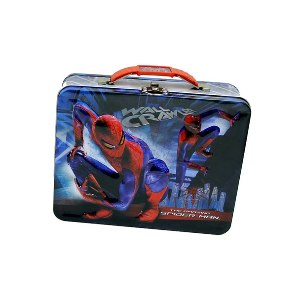 Marvel Spiderman Tin Lunch/Toy Box 29028134