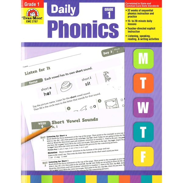 Daily Phonics Book, Grade 1 29028450