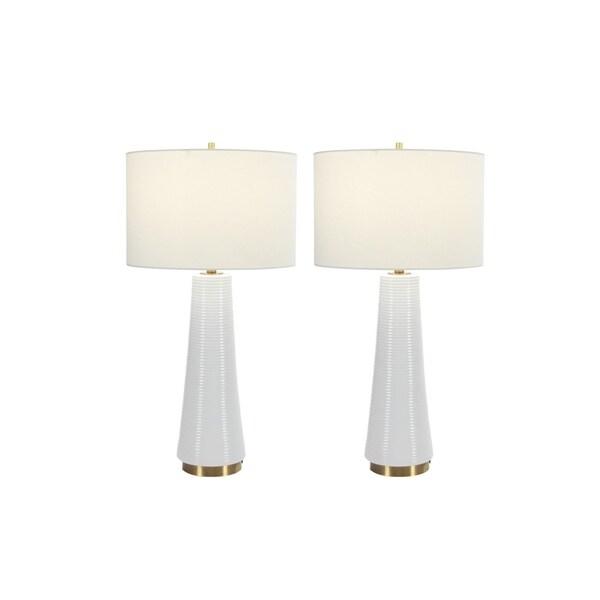 Studio 350 Set of 2, Ceramic Table Lamp 27 inches high 29063305