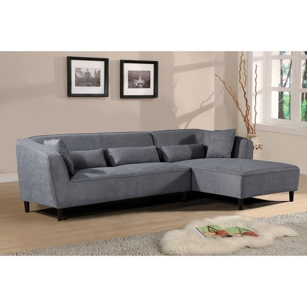 Modern Right-Facing Sectional Sofa