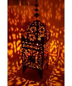Marrakech Hurricane Lantern, Handmade in , Handmade in Morocco