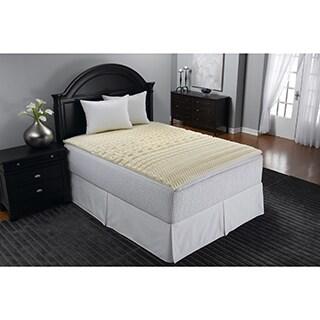 Beautyrest 2-inch 5-Zone Contour Comfort Memory Foam Topper