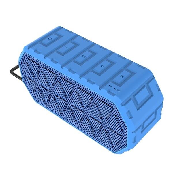 Waterproof Ipx6 Wireless Bluetooth 4.2 Outdoor Speaker; 10W Stereo Sound, Hands-Free 29119506