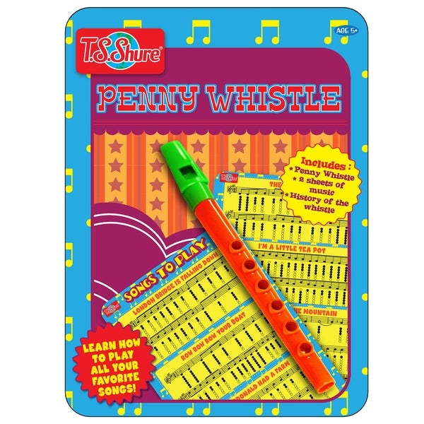 T.S. Shure Penny Whistle Music Tin 29119806