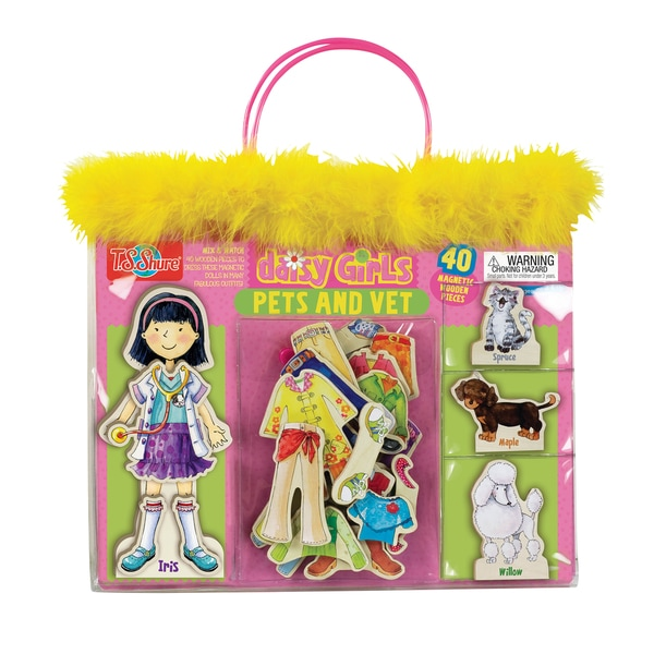 Daisy Girls Pets and Vet Dress-Up Doll and Animals 29119807