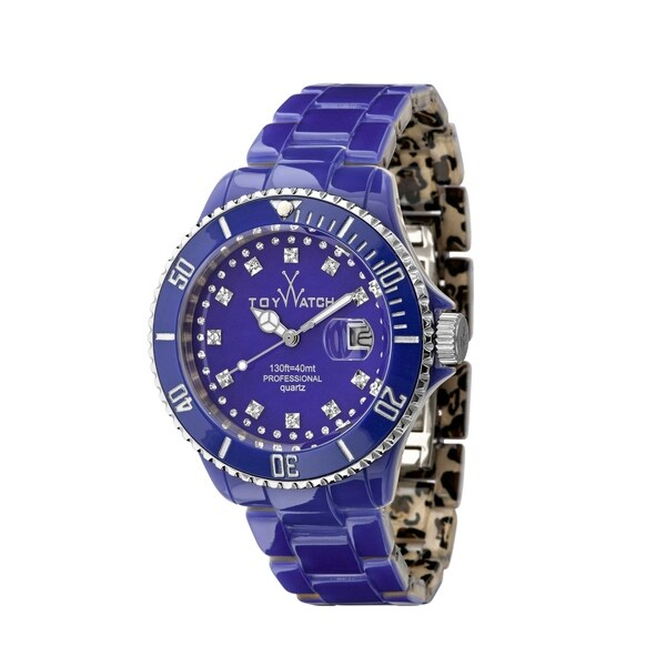 ToyWatch Toy MrHyde Blue and Leopard HY04BL 29120000