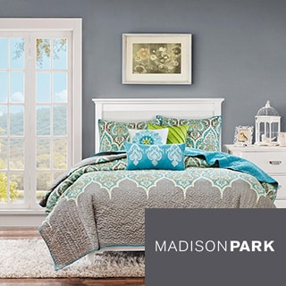 Madison Park Tara 6-piece Quilted Coverlet Set