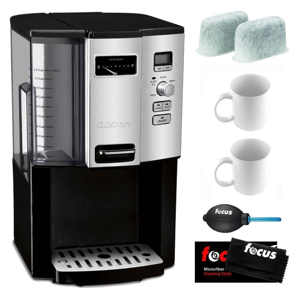 Cuisinart DCC-3000 Coffee-on-Demand 12-Cup Programmable Coffeemaker Bundle (Refurbished) 29168542