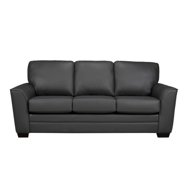 Minneola Leather Sofa