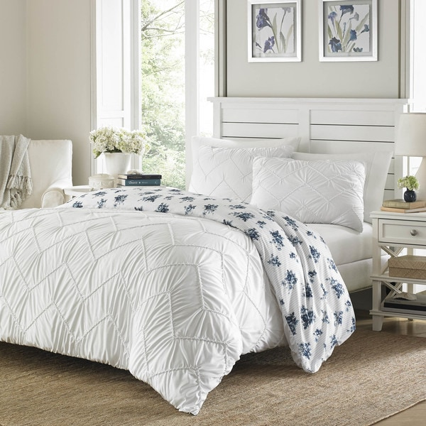 Stone Cottage Hilberry White Comforter Set 29196125