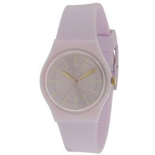 Swatch GUIMAUVE Silicone Unisex Watch GP148
