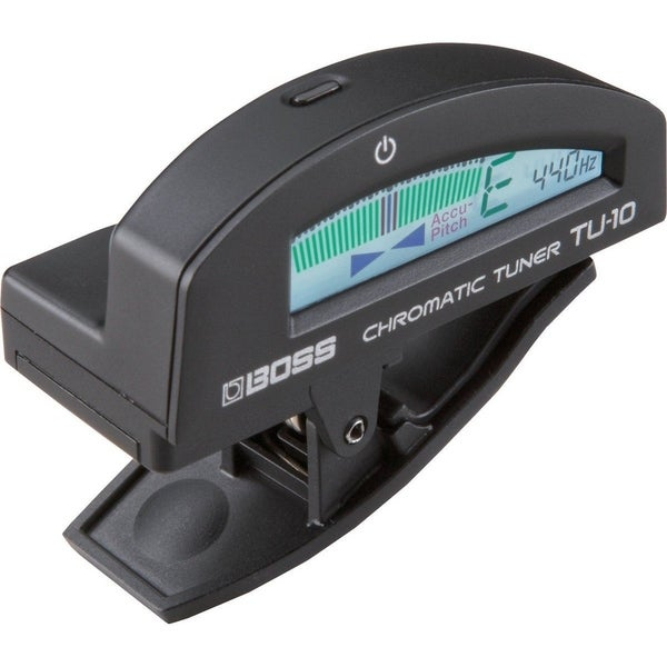 Boss TU-10 Clip-On Chromatic Tuner - Black 29273172