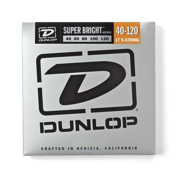 Dunlop - DBSBN40120 - Super Bright Nickel Plated Steel Bass 5 String Set, .40-.120 29273202
