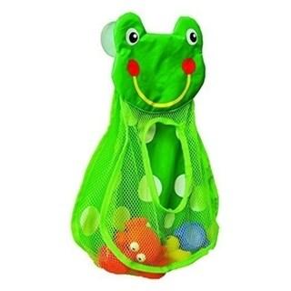 Evideco Bath Tub Toys Organizer FROG HEAD -Suction Cups Green 29273547