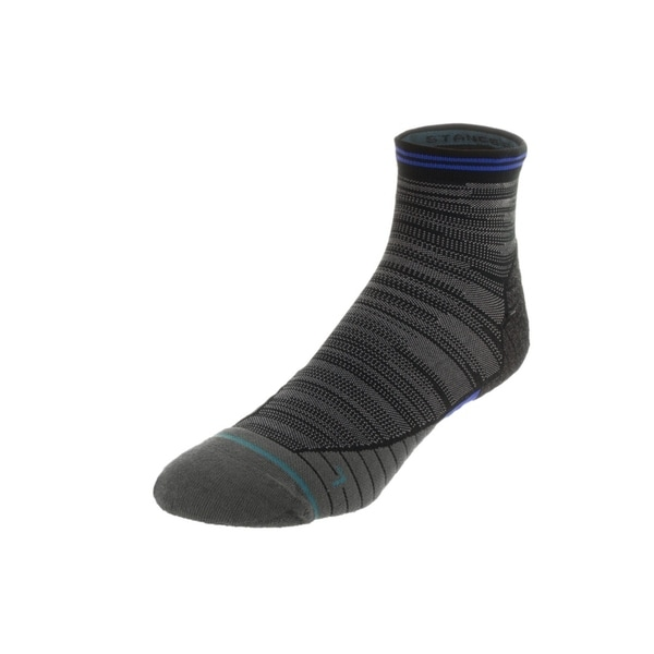 Stance Men's Fusion Run Uncommon Solids Quarter Height Socks 29281033