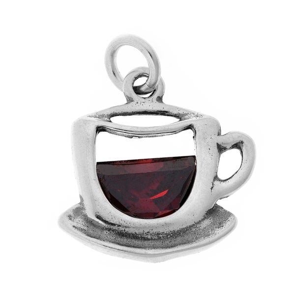 Sterling Silver Cup of Tea Charm 29302197