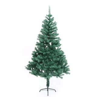 ALEKO Indoor Artificial 6 Feet Christmas Tree Holiday Pine Tree