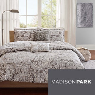 Madison Park Pure Dermot 5-piece Duvet Cover Set