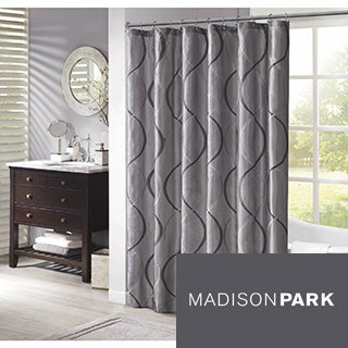 Madison Park Marcel Shower Curtain--3 Color Options