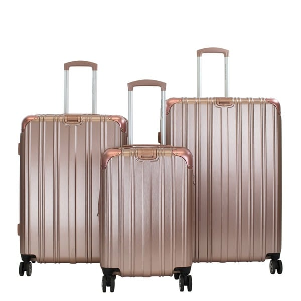 American Green Travel Melrose II 3-piece Hardside Spinner Luggage Set 29351151