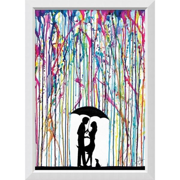 Framed Art Print 'Two Step' by Rod Allante 28 x 39-inch 29352451