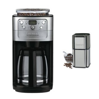 Cuisinart (DGB-700BC) 12 Cup Grind & Brew Coffeemaker Brushed Chrome + Cuisinart DCG-12BC Grind Central Coffee Grinder 29357039