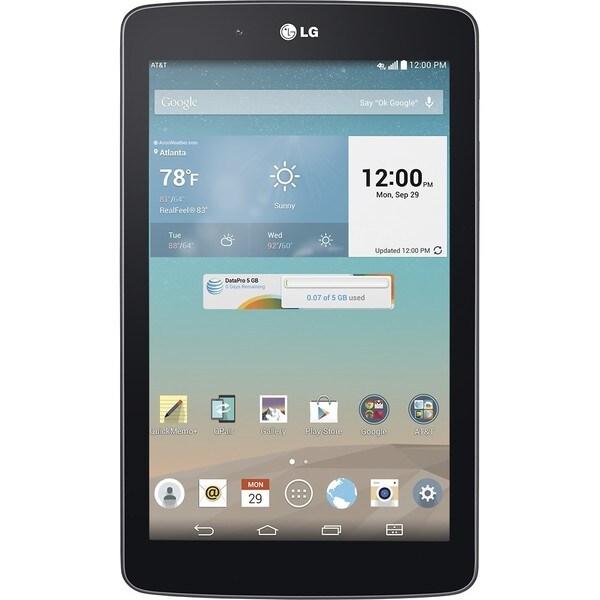 """G Pad 7.0"""" Tablet, 16GB, Wi-Fi+AT&T (Black) 29381374"""