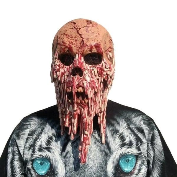 Halloween Full Face Mask Cosplay Skull Skeleton Mask 29388382