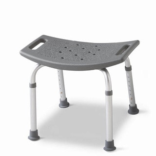 Medline Gray Backless Bath Bench