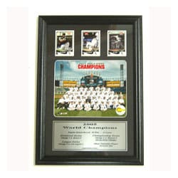 Chicago White Sox with 3 Cards in Custom Frame