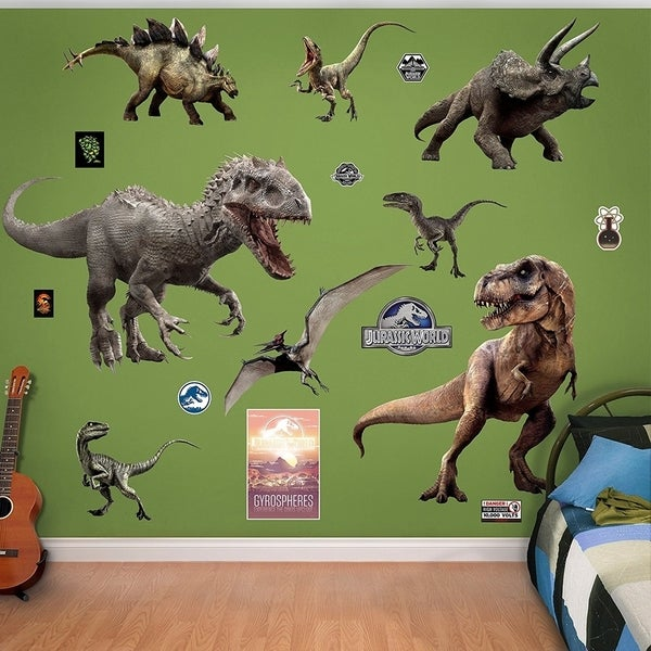 Fathead Jurassic World Dinosaurs Collection Real Decals Wall Vinyl 29479532