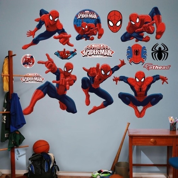 Fathead Ultimate Spider-Man Collection Real Big Wall Vinyl 29480056
