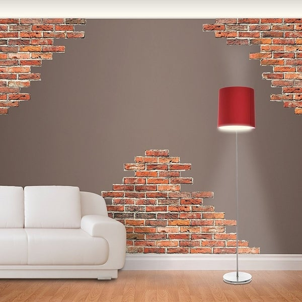 Fathead Horizontal Brick Wall Accents Wall Decal Wall Vinyl 29493591