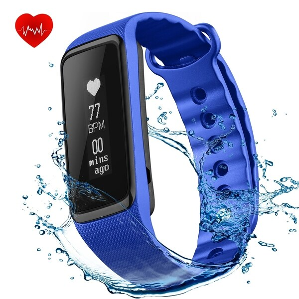IP68 Waterproof Activity Tracker for iPhone iOS Android Smartphones 29494536